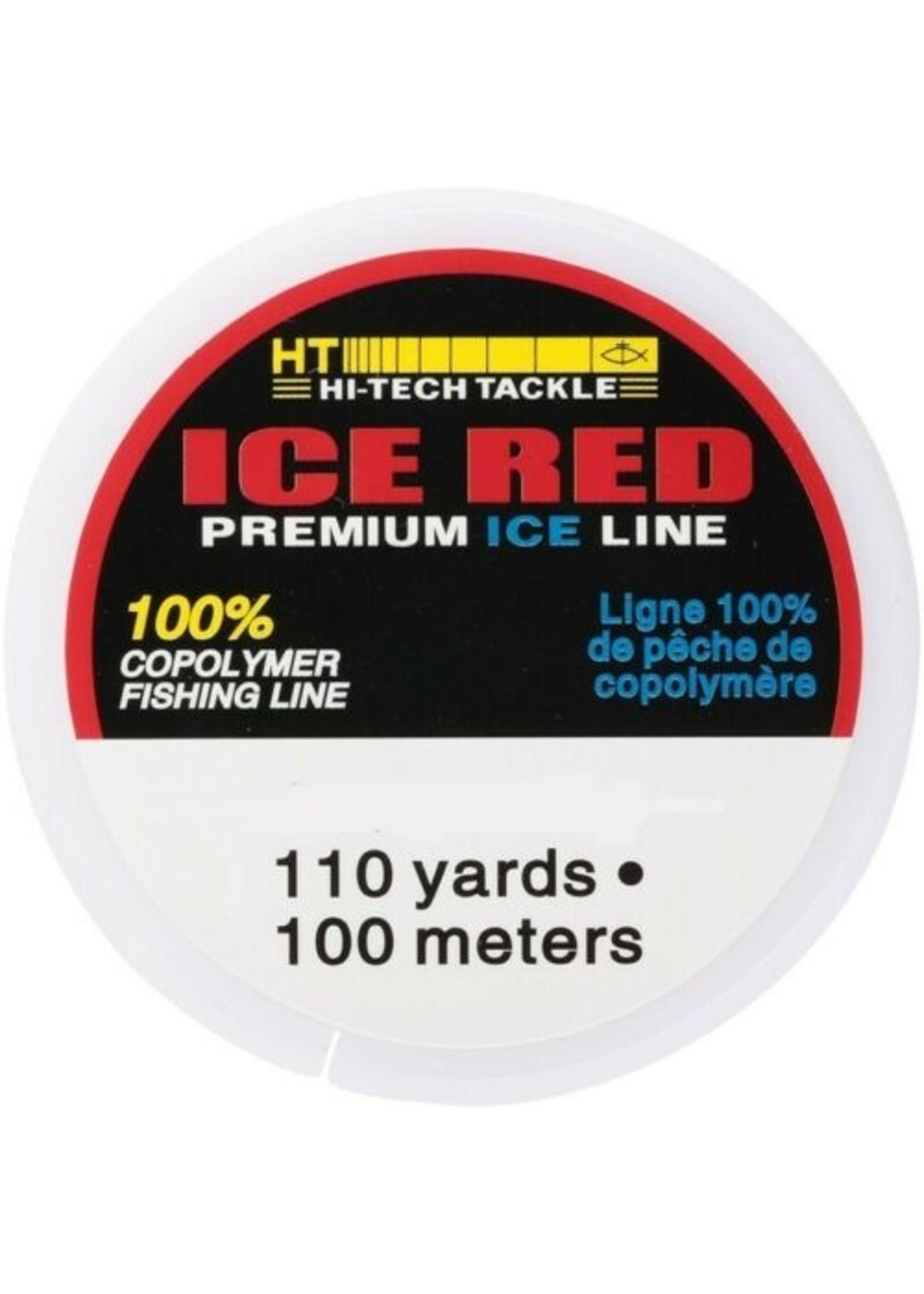 HT Ice Line Red 8lb 110yd BRL-8