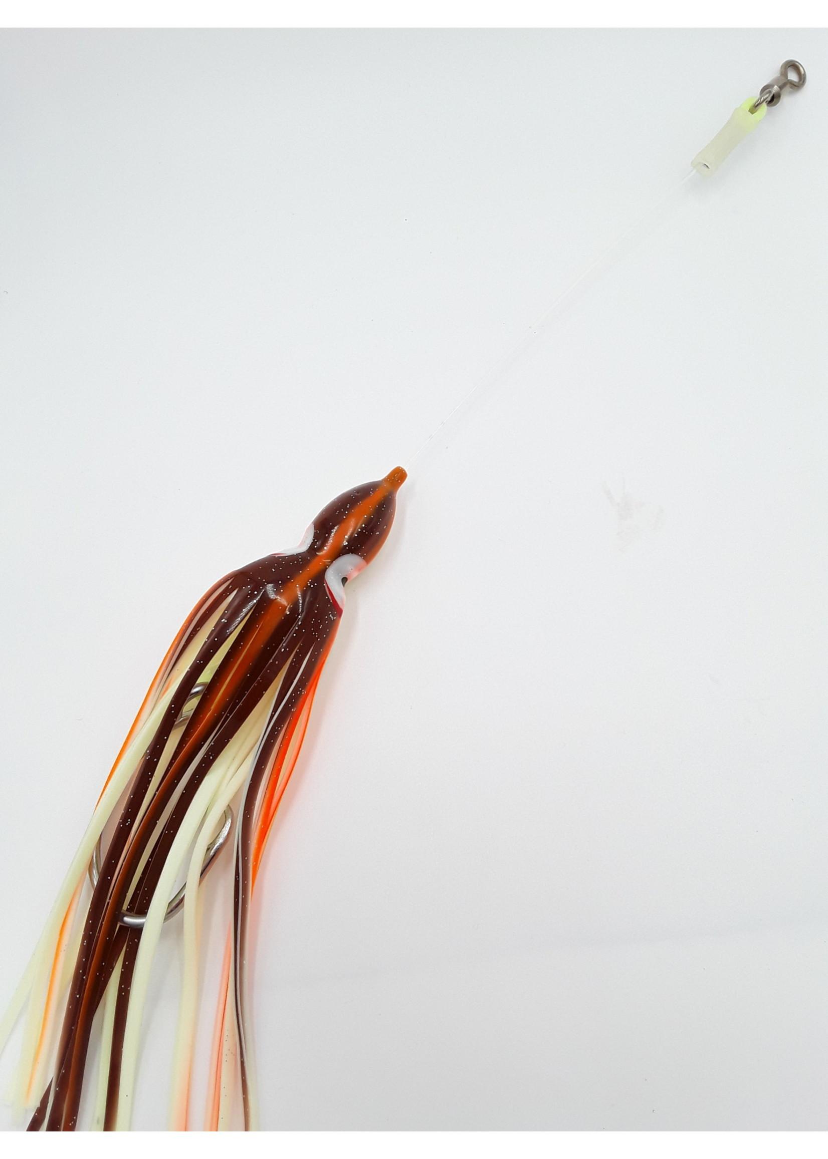 B&J Sporting Goods B&J Squid Rig Peanut Butter 16/0