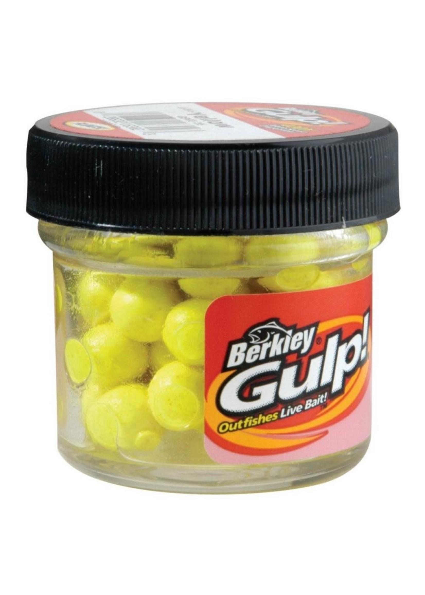 Berkley Berkley Gulp! Floating Salmon Eggs Small Jar Yellow