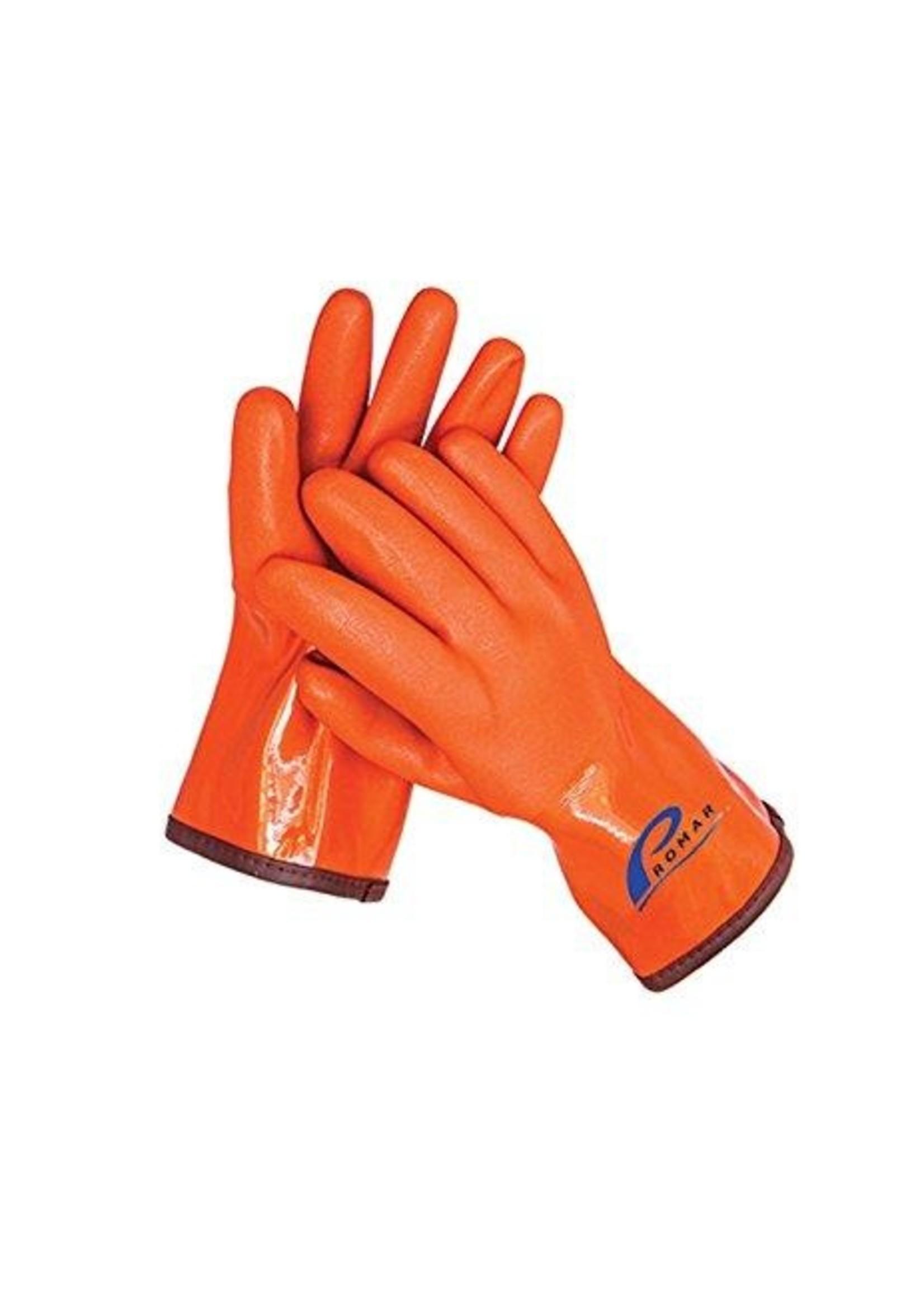 Promar Insulated ProGrip Gloves - Orange X-Large
