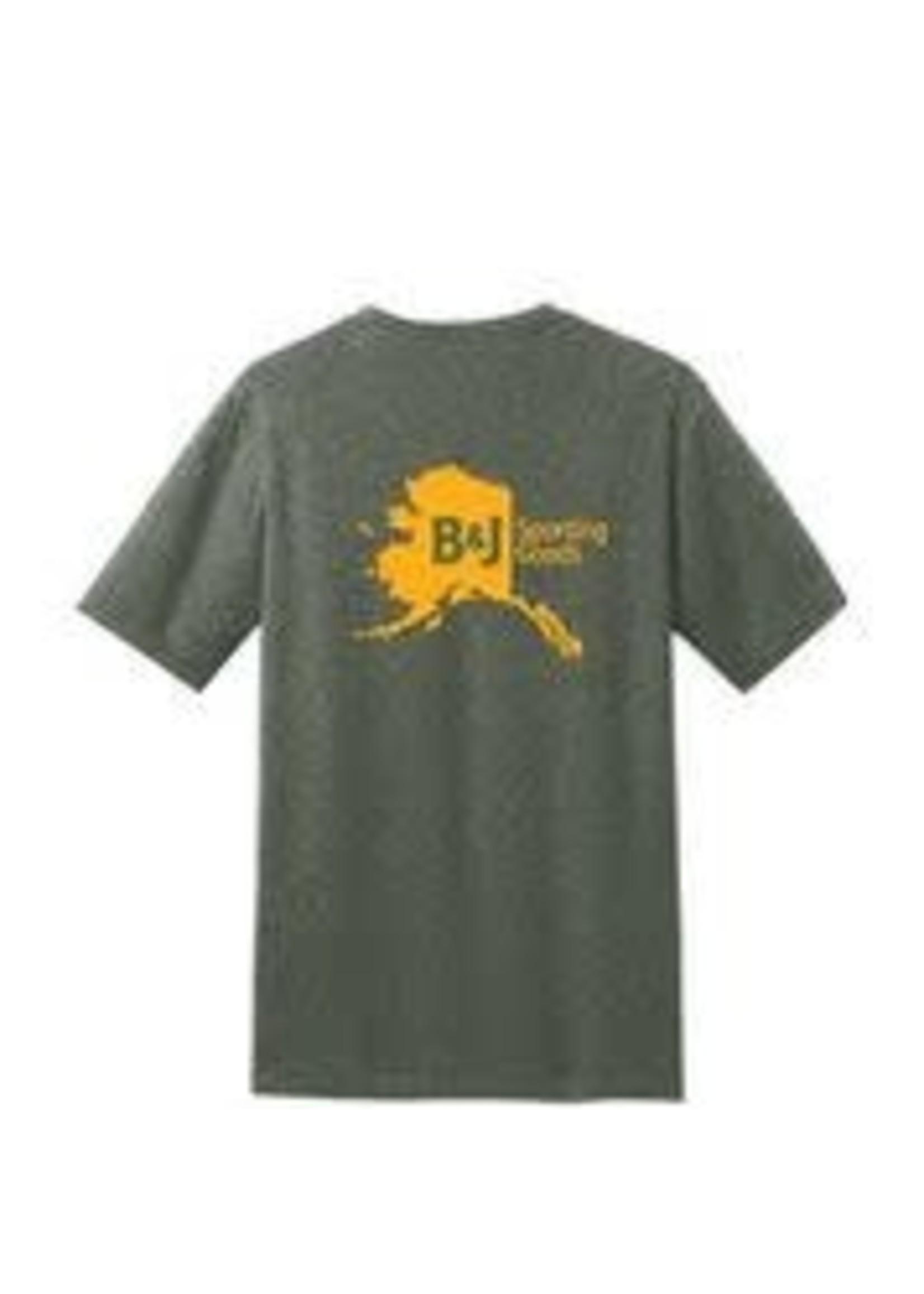 B&J Sporting Goods B&J Shirt SS Grn