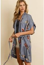 Rose Garden Kimono Dress