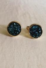 Pika & Bear Zella Gold Plated Stud Earrings