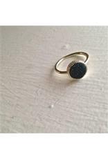 Pika & Bear Tenerife Gold Plated Druzy Ring