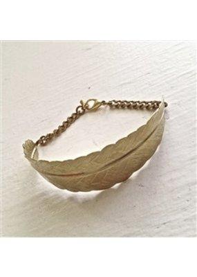 Pika & Bear Valkyrie Feather Cuff Bracelet