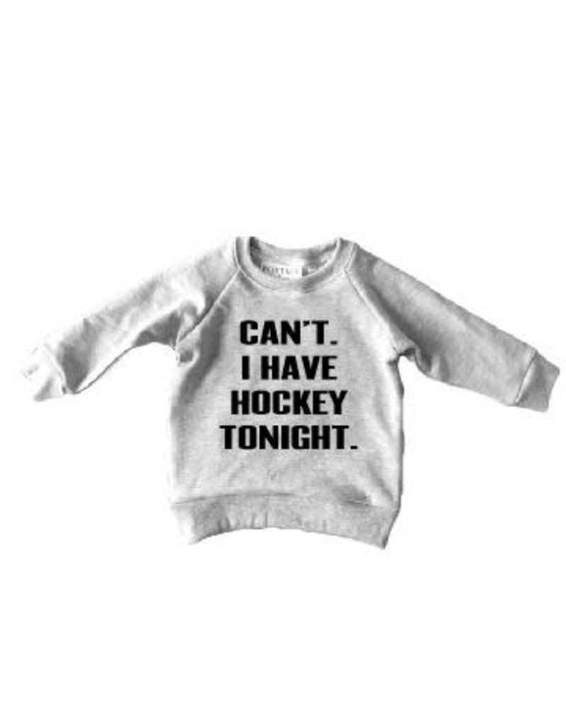 Can't I Have Hockey - Child Sweater