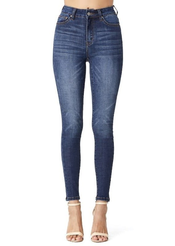 Hammer Collection High Rise Med/Dark Wash