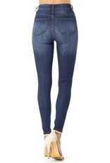 Hammer Collection High Rise Med - Dark Wash