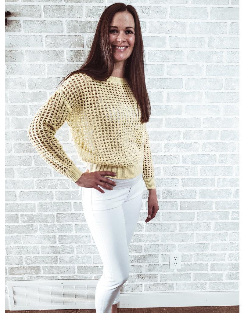 RD International Sunny Knit Sweater