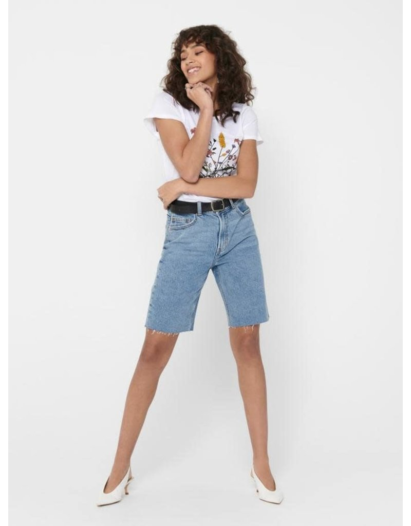 ONLY Emily High Waisted Long Shorts