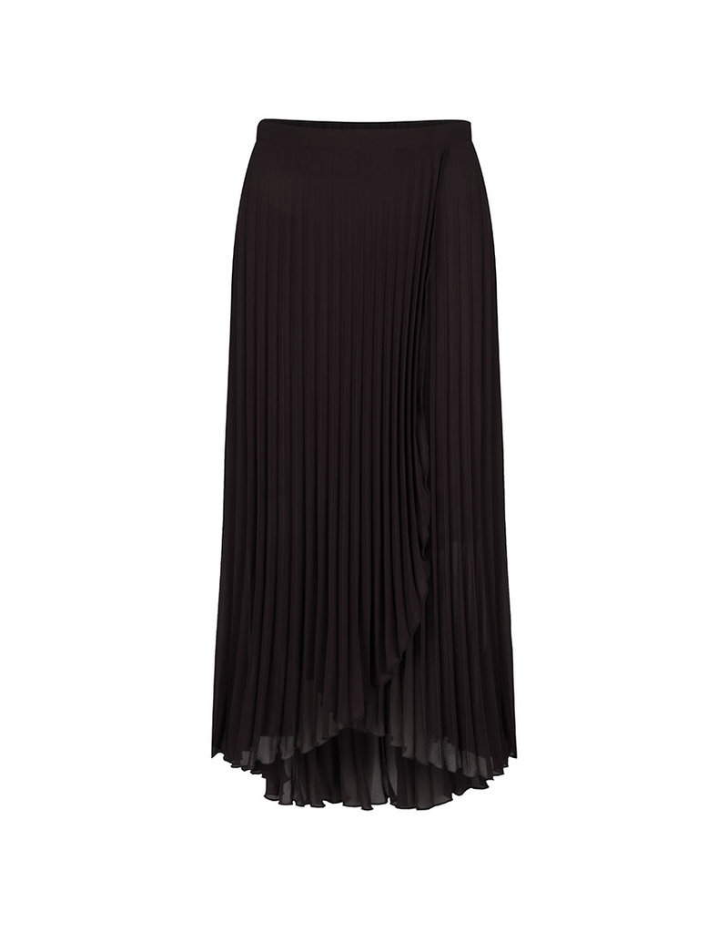 Esqualo Pleated Overlap Skirt