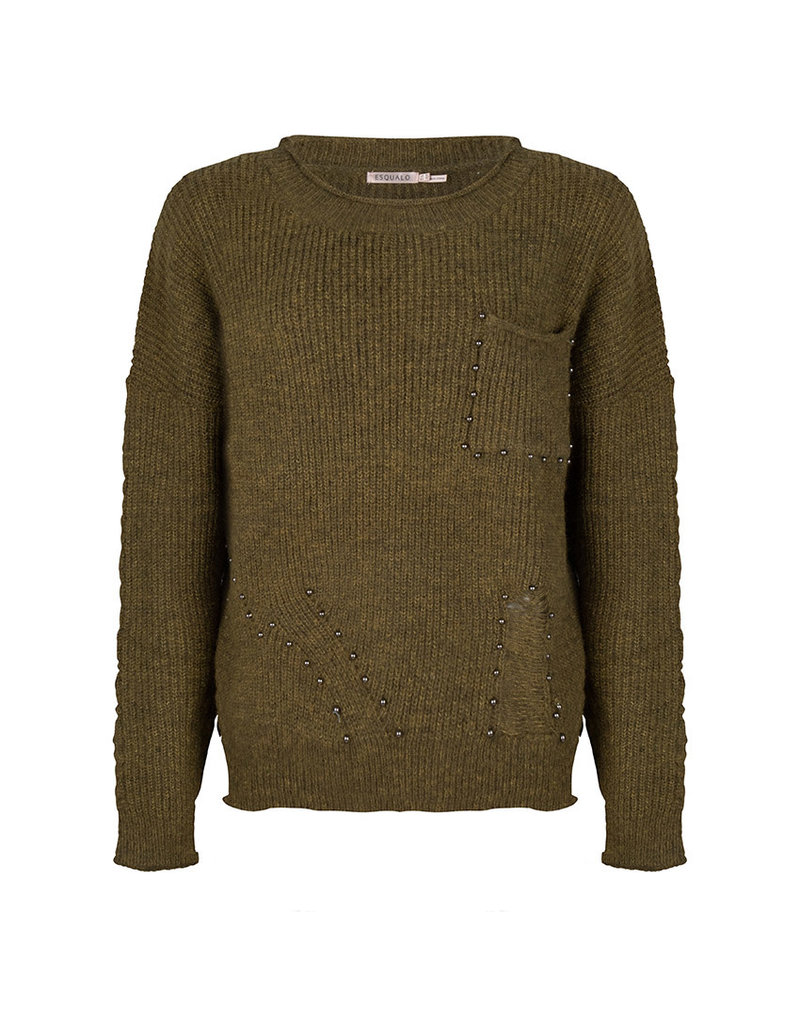 Esqualo Stud Sweater