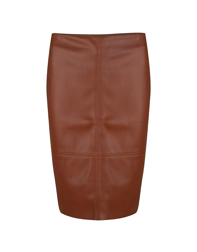 Esqualo Pleather Pencil Skirt