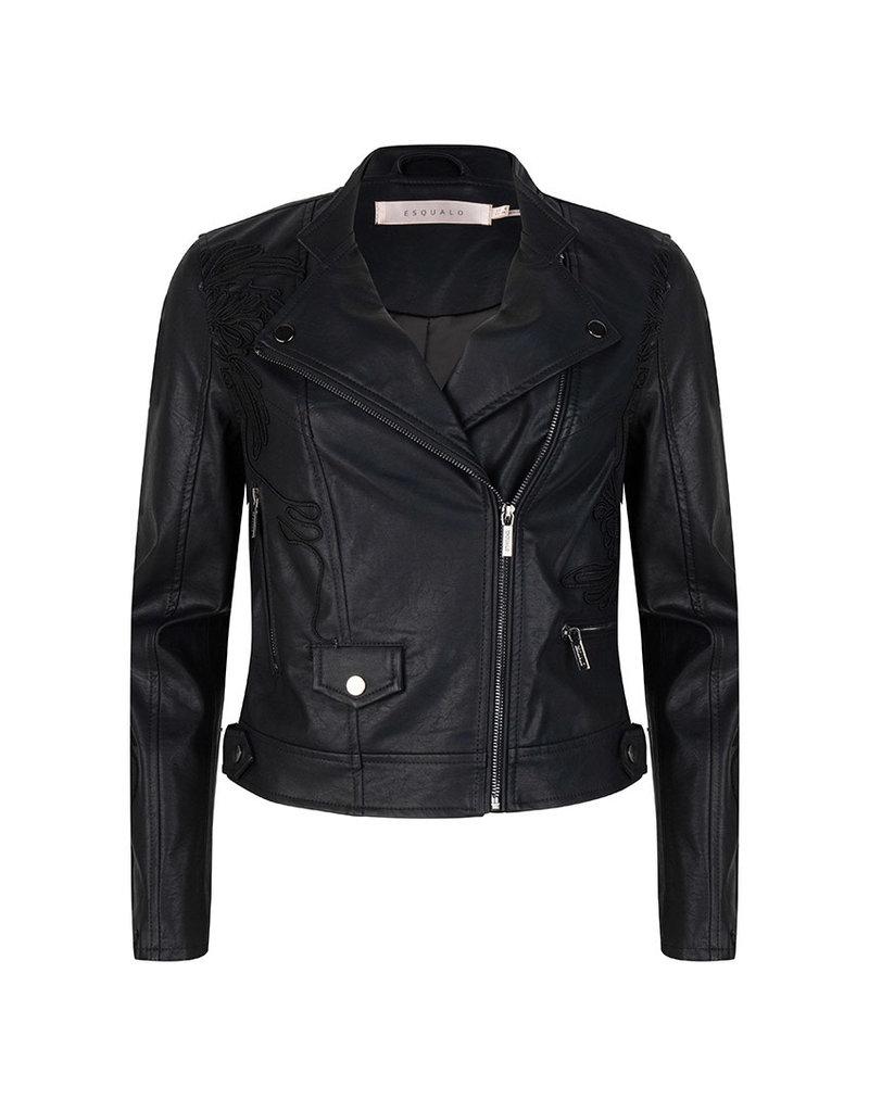 Esqualo Natalie Pleather Jacket