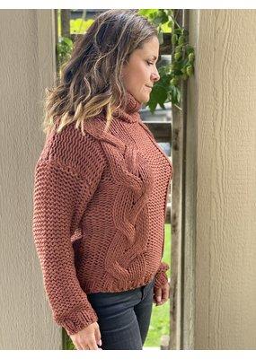 Esqualo Cable Sweater