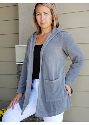 Mododoc Fleece Hooded Cardigan