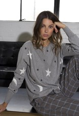 Zaket and Plover Star & Moon Sweater
