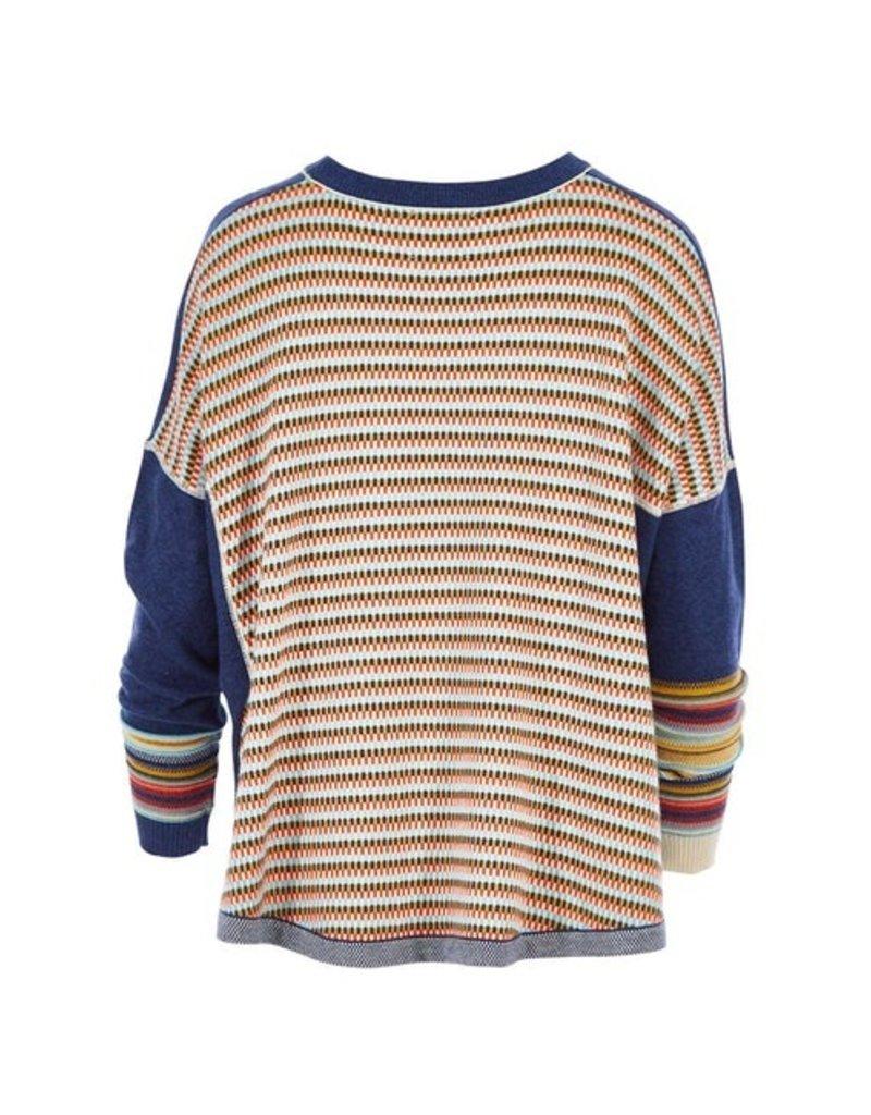 Zaket and Plover Multi Gauge Sweater