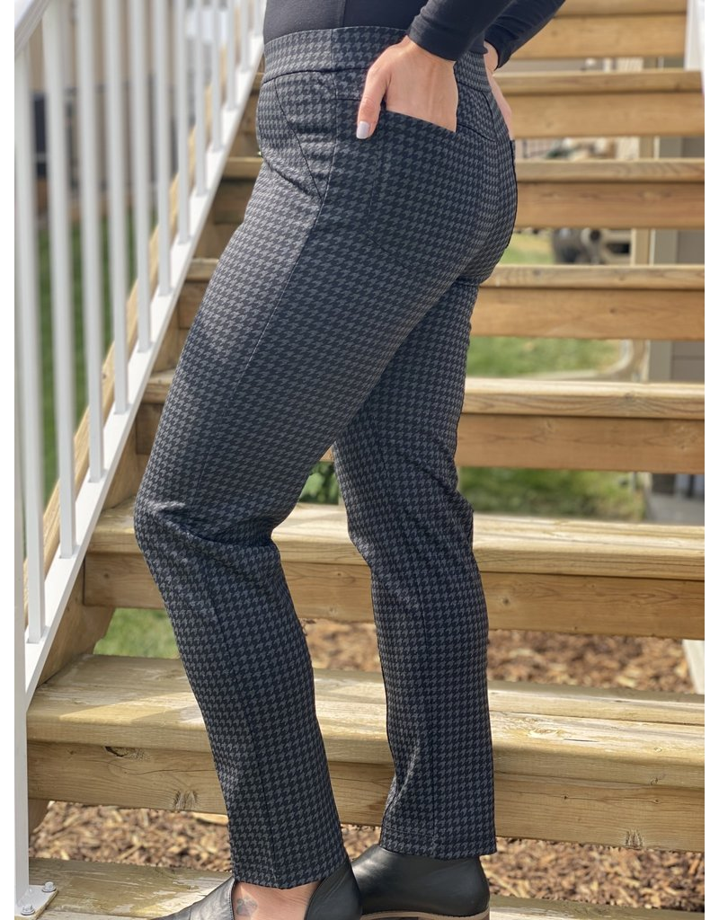 Hatley Kate Ponte Pants- Houndstooth