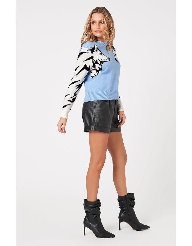 MinkPink Wolf Pack Knit Sweater
