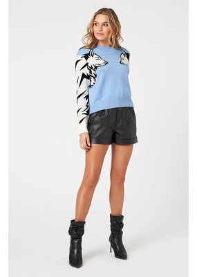 MinkPink Wolf Pack Knit Sweater