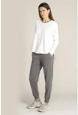 Mododoc Drop Shoulder Rib Sleeve Sweatshirt