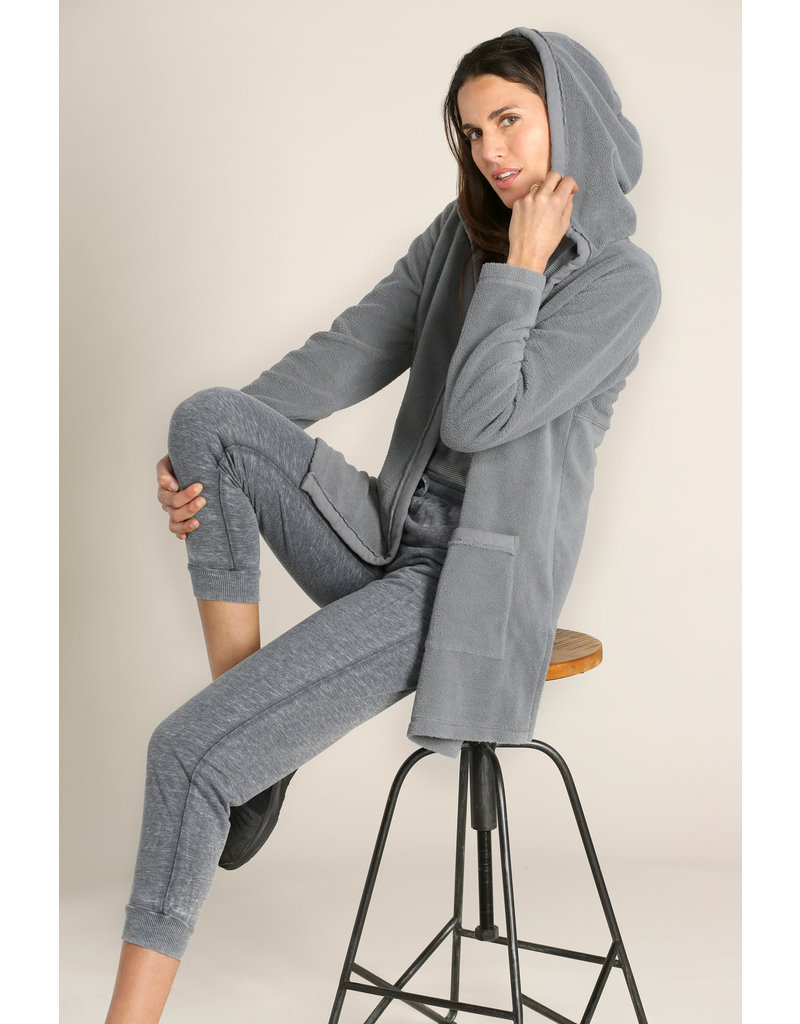 Mododoc Fleece Hooded Cardigan