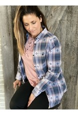 Old Ranch Acadia Boyfriend Flannel