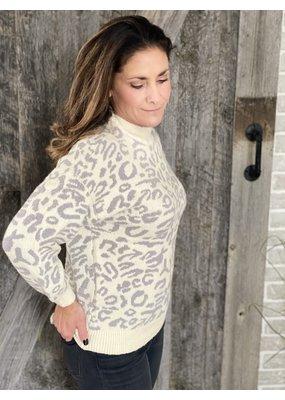 RD International Winter Print Sweater