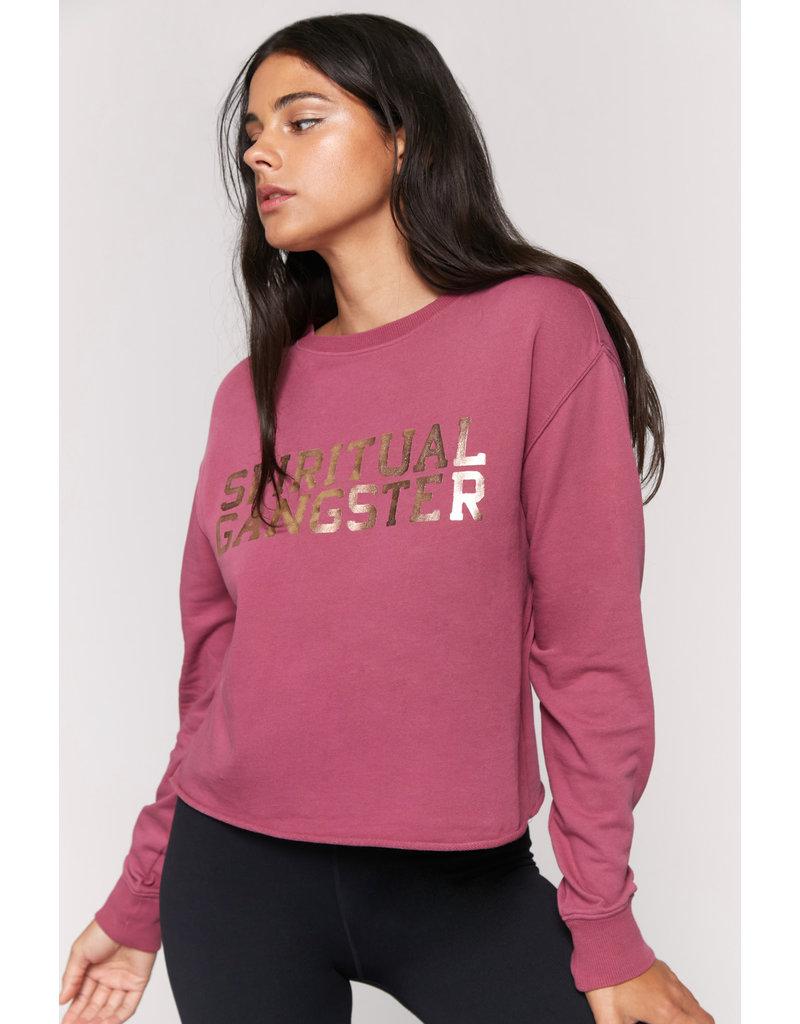 Spiritual Gangster SGV Mazzy Pullover - Desert Rose