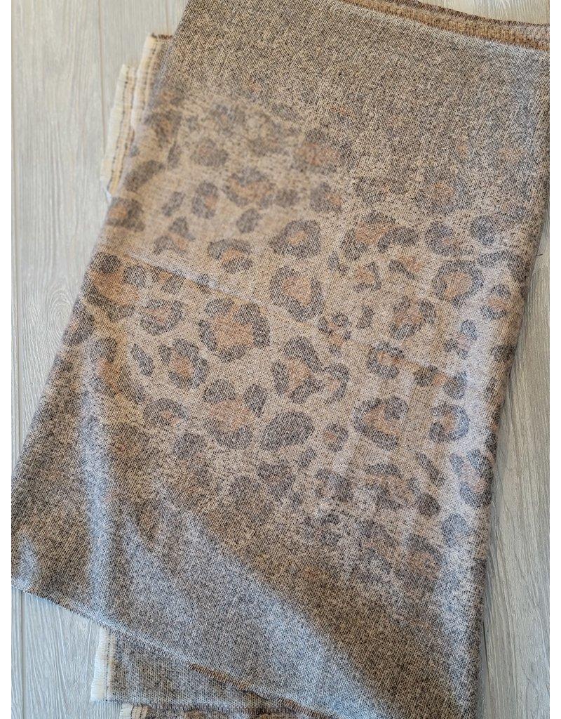 Avenue Zoe Leopard Blanket Scarf
