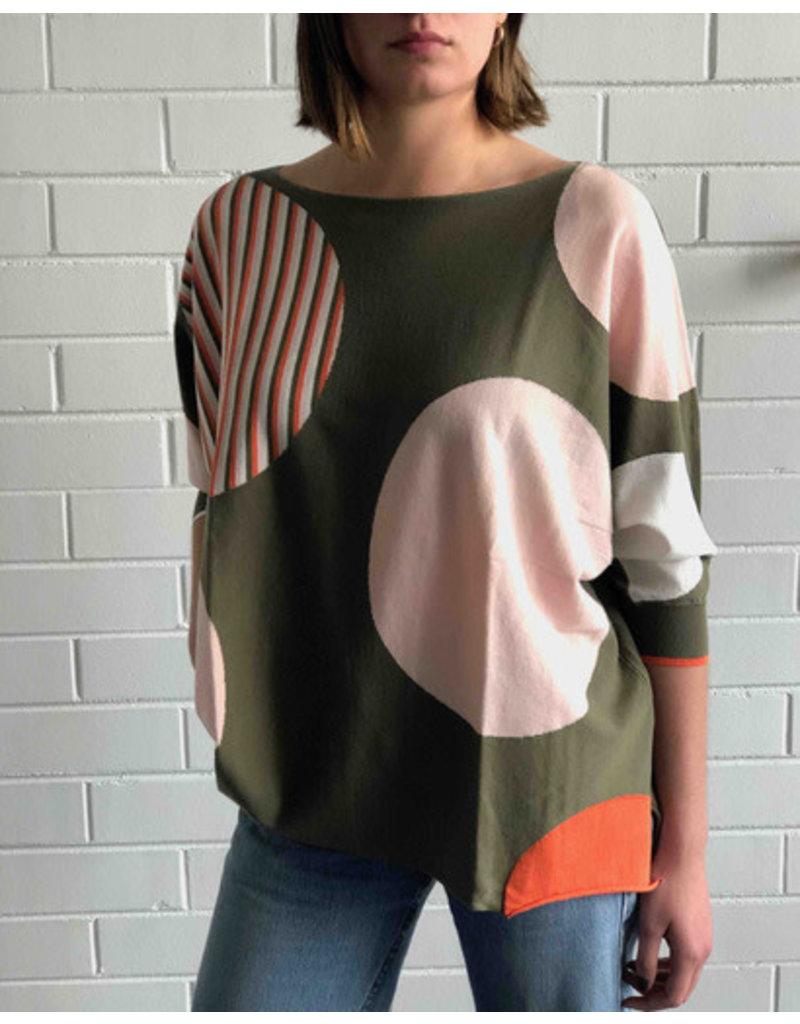 Zaket and Plover Mega Dot Sweater