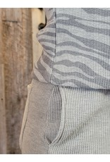 RD International Waffle Knit Wide Leg Lounge Pants
