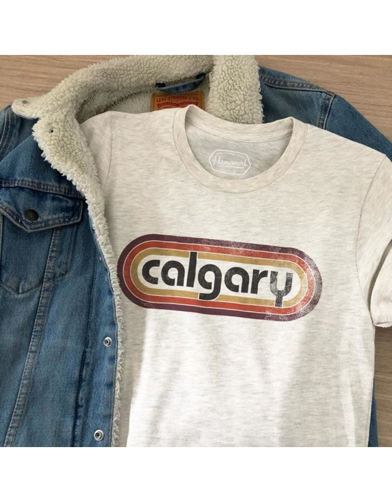 Homework Brand Retro Calgary Tee