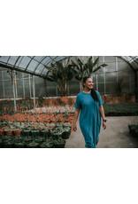 Mododoc Short Sleeve Midi T-shirt Dress