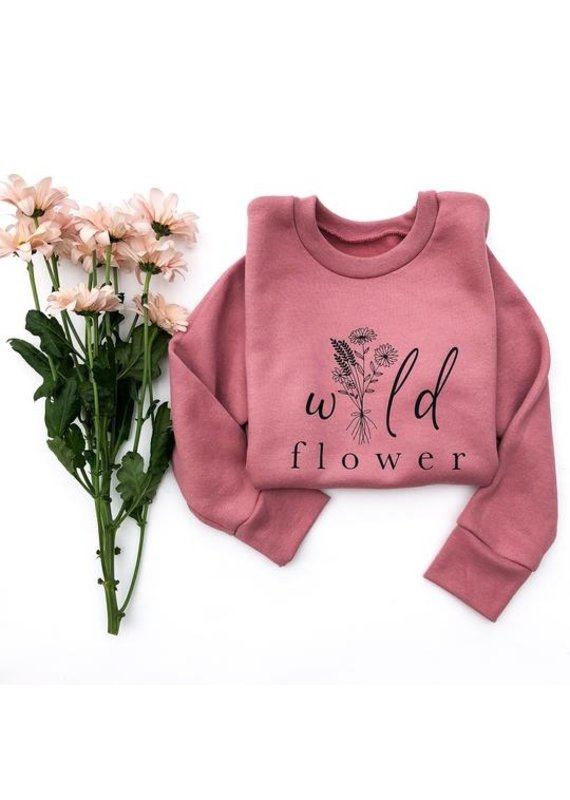 Sweet Life Apparel & Gifts Wildflower Crewneck Pullover