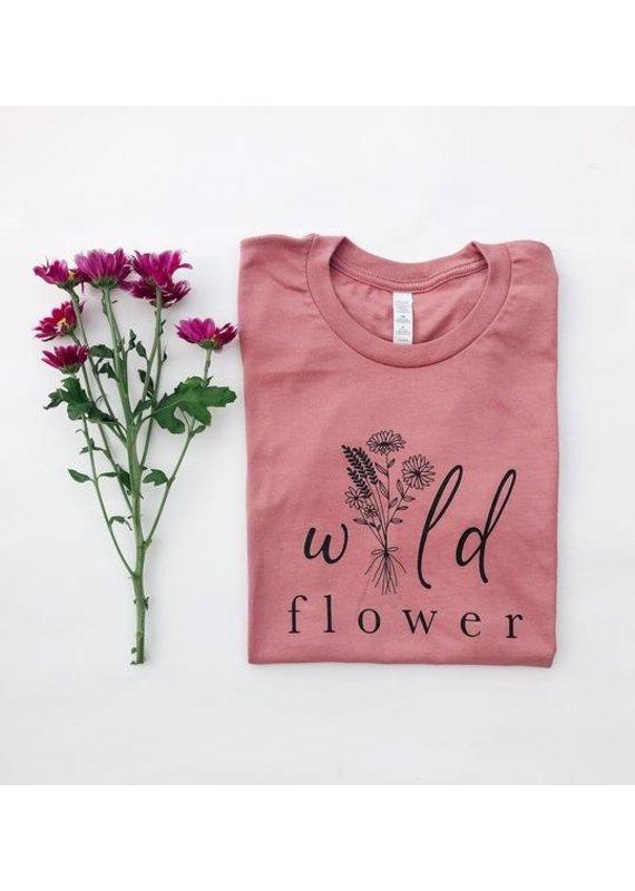 Sweet Life Apparel & Gifts Wild Flower T Shirt