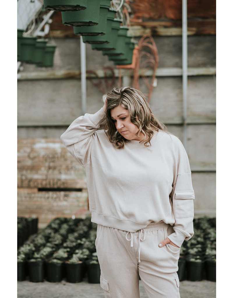 Dusty Knit Pullover