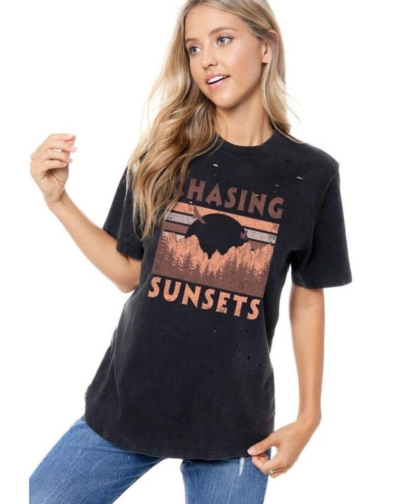 Zutter Chasing Sunsets Tee