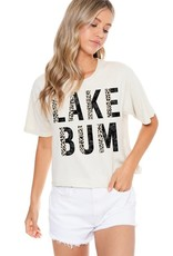 Zutter Lake Bum Graphic Tee - Short Sleeve