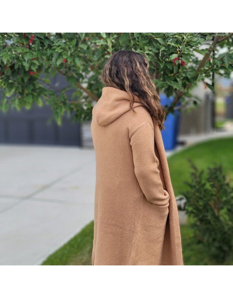 RD International Knit Hooded Cardi