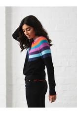Zaket and Plover Rainbow Yoke Sweater