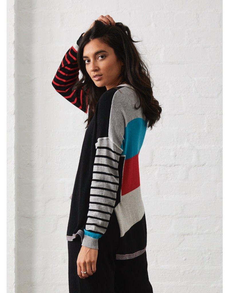 Zaket and Plover Fun Stripe Sweater
