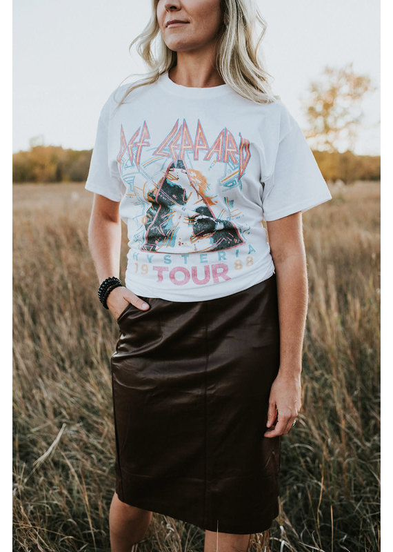 Jack of all trades Def Lepperd Hysteria Tour T-Shirt