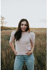RD International Pink Cloud Sweater