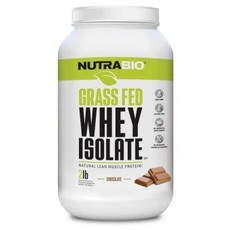 NutraBio Grass Fed Whey Isolate