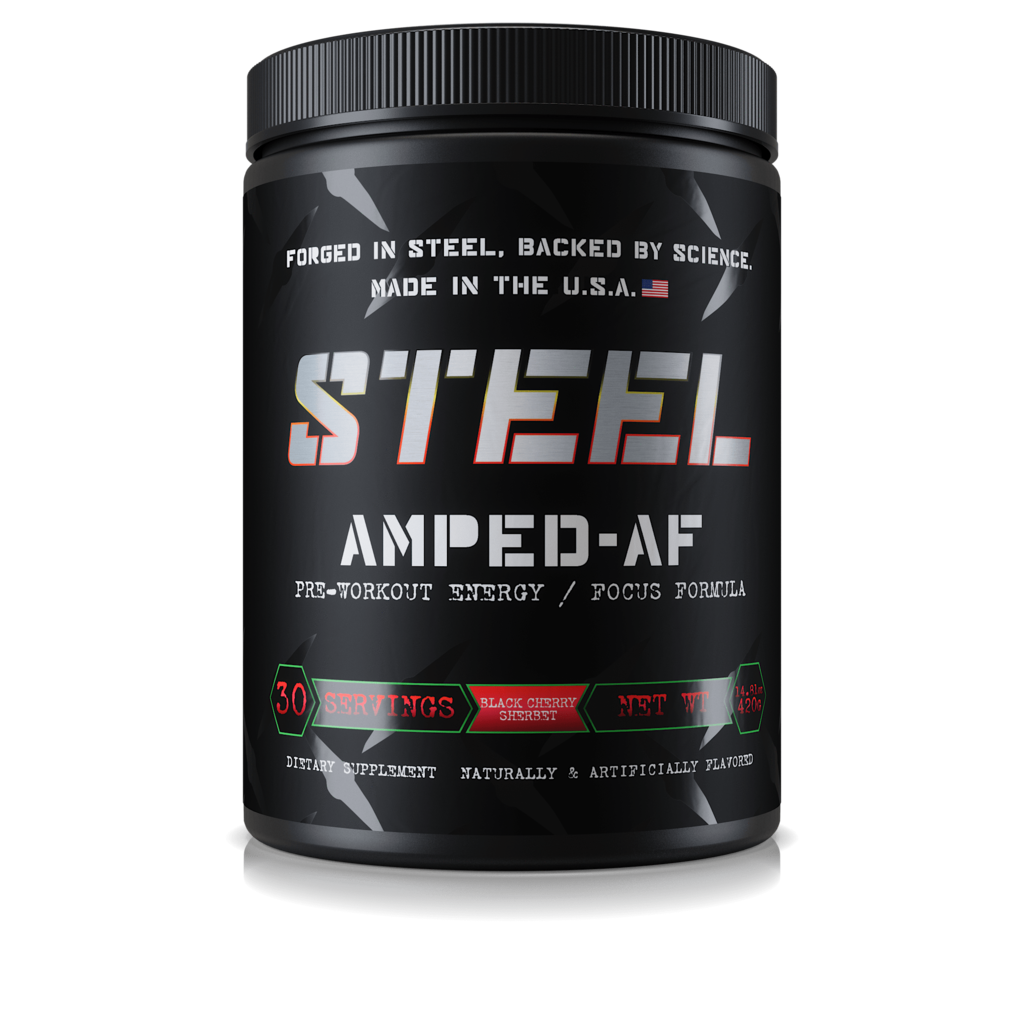Steel Supplements Amped-AF
