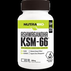 NutraBio Ashwagandha KSM-66