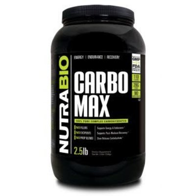 NutraBio Carbo Max