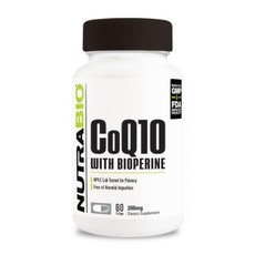 NutraBio CoQ10 (200mg) (60ct)
